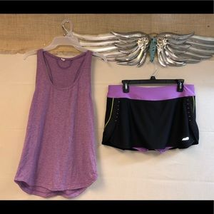 Size Large Under Armor/Avia Workout Outfit